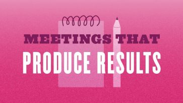 MEETINGS THAT PRODUCE RESULTS